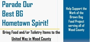 United Way of Wood Co. Food Collection