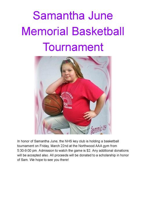 Sam June Memorial Tournament