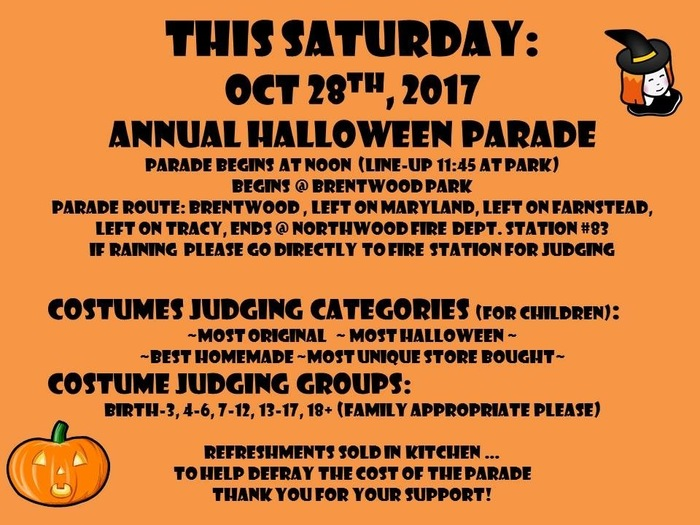 Annual Halloween Parade