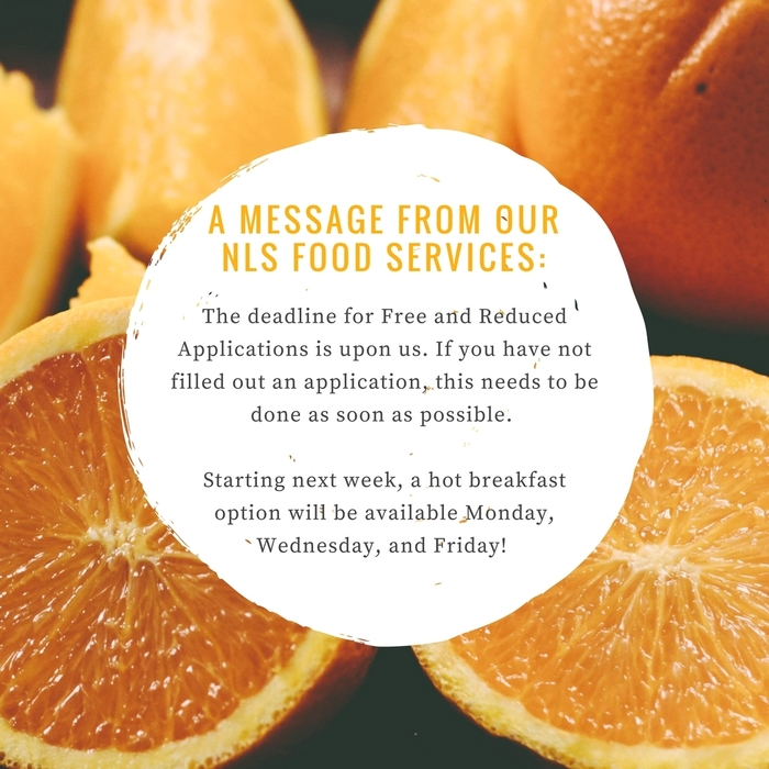 Food Services Message