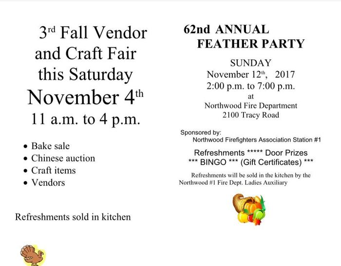 Craft Fair and Feather Party