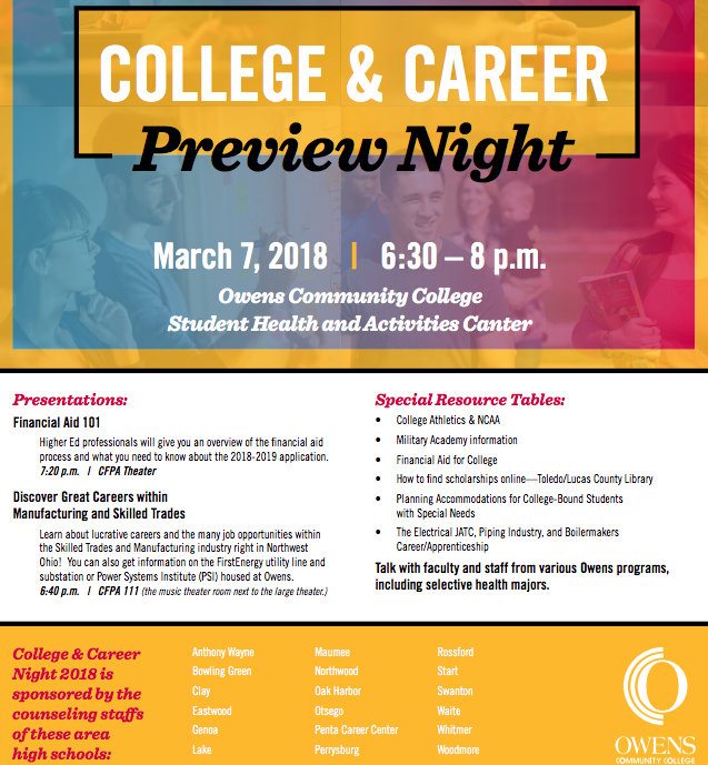 College and Career Preview Night