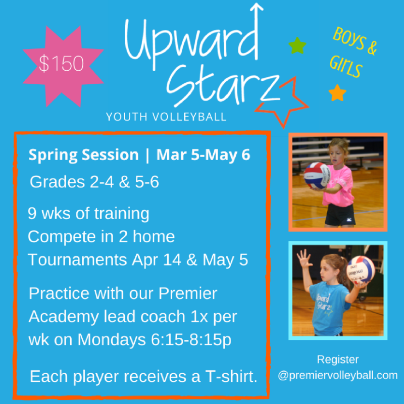 Upward Stars Youth Volleyball