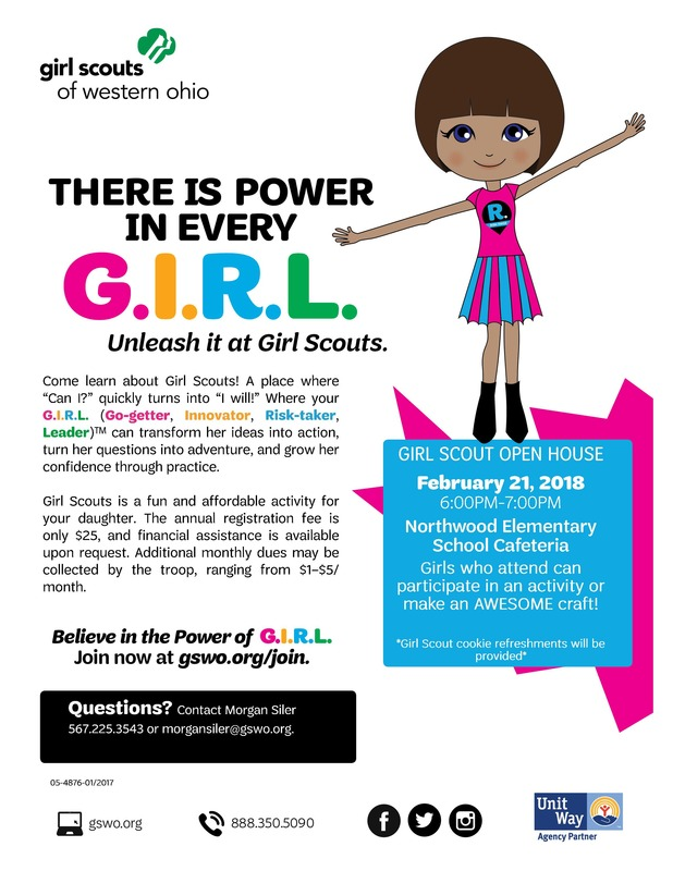 Come Learn about the Girl Scouts!