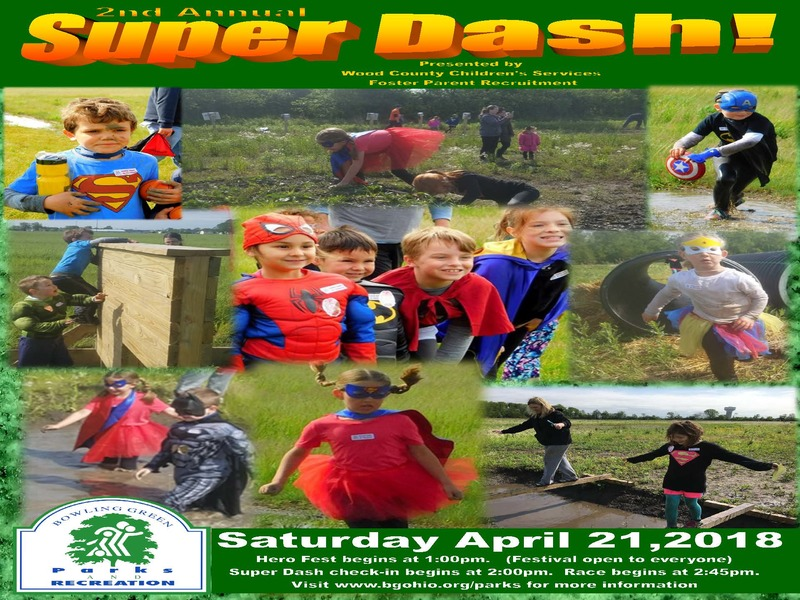 Bowling Green Parks & Rec Super Dash!