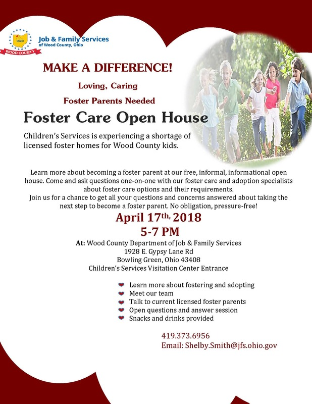 Foster Care Open House