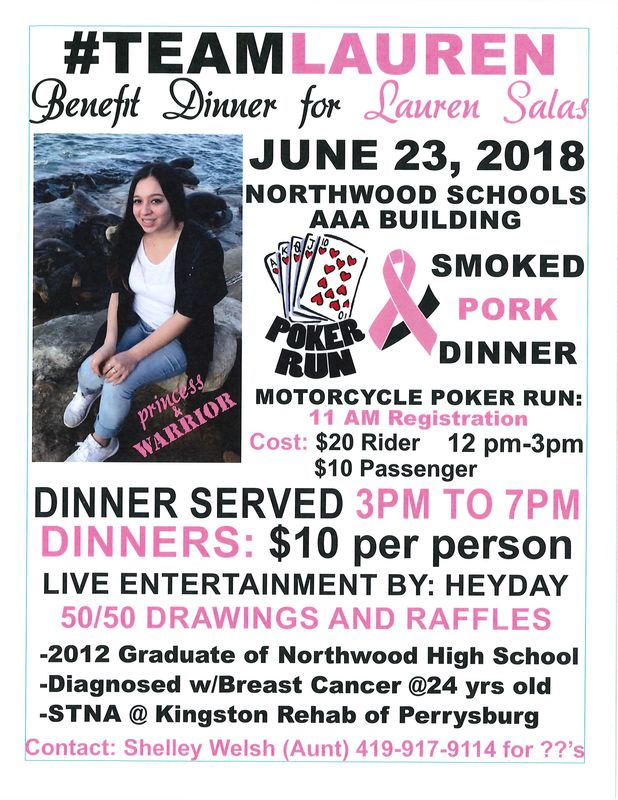 Benefit Dinner for Lauren Salas