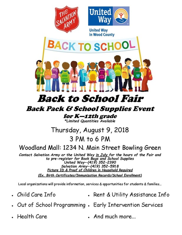 Back to School Backpack/Supply Event