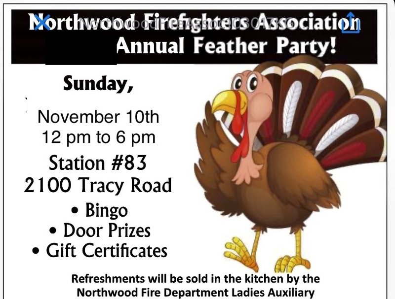 Annual Firefighters Feather Party